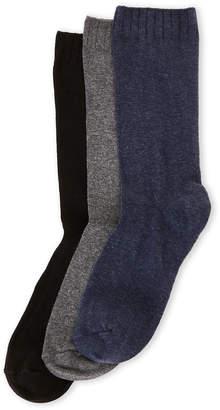 Hue 3-Pack Comfort Top Loafer Socks