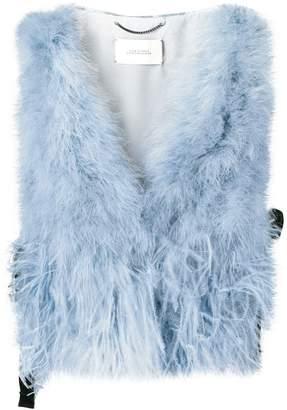Schumacher Dorothee feather vest