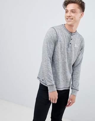 Tokyo Laundry Grandad Collar Lightweight Knitted Sweater