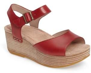 Dansko Silvie Platform Wedge Sandal