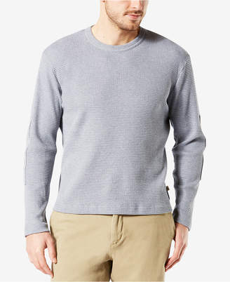 Dockers Men Waffle-Knit Long-Sleeve T-Shirt
