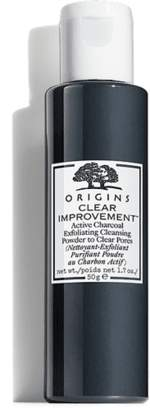 Origins Clear ImprovementTM Active Charcoal Exfoliating Cleansing Powder to Clear Pores
