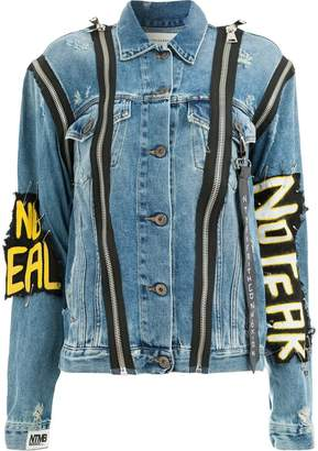 Faith Connexion No Fear denim jacket