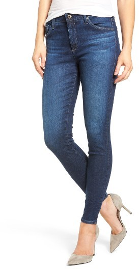 Women's Ag 'The Farrah' High Rise Skinny Jeans