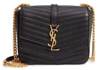 Saint Laurent Montaigne Quilted Lambskin Crossbody Bag