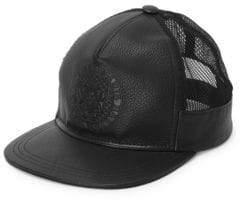 Balmain Logo Crest Embossed Trucker Hat