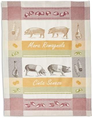 """Sur La Table Pigs Jacquard Kitchen Towel, 30"""" x 22"""""""