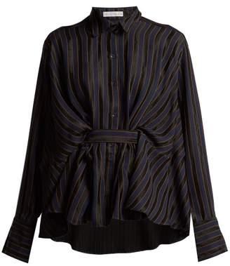 Palmer Harding Palmer//Harding Palmer//harding - Striped Shirt - Womens - Navy
