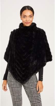 J.Mclaughlin Cayla Faux Fur Poncho