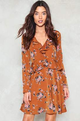 Nasty Gal Where Do You Think You're Growing Floral Dress