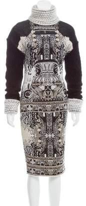 Mary Katrantzou Intarsia Knit Midi Dress