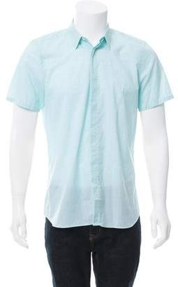 Calvin Klein Collection Striped Button-Up Shirt w/ Tags
