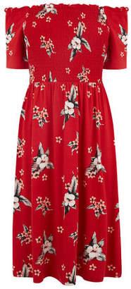 Oasis Long Havana Bandeau Dress