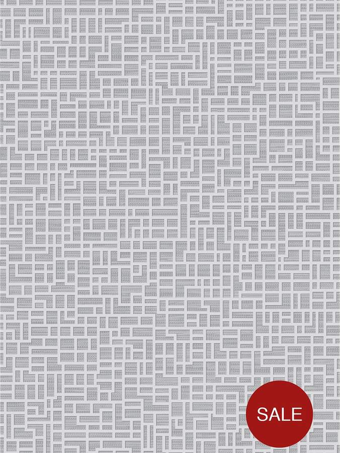 ARTHOUSE Santoni Silver Wallpaper