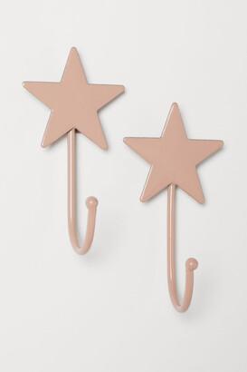 H&M 2-pack Hooks - Pink