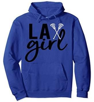 LaCrosse Lax Girl Fun Pullover Hoodie