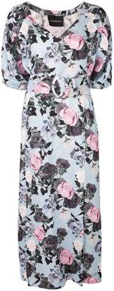 Nicholas floral kaftan dress