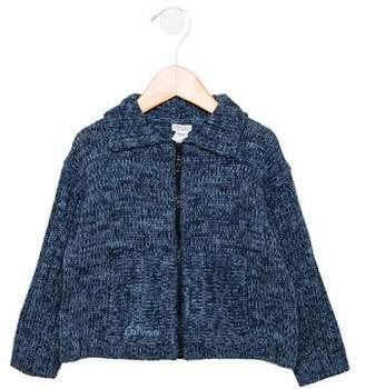 Catimini Boys' Wool-Blend Zip-Up Cardigan