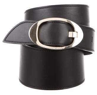 Gianni Versace Leather Embellished Belt