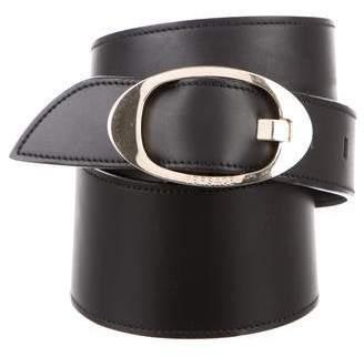 Gianni Versace Leather Embellished Belt