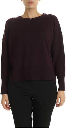 Pinko Per Caso Patched Pullover