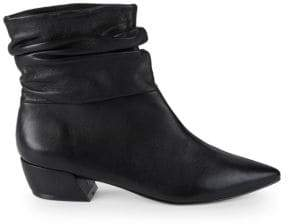 Saks Fifth Avenue Slouchy Leather Ankle Boots