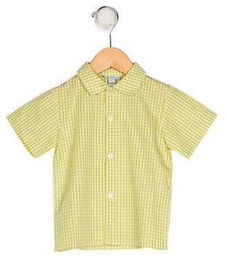 Papo d'Anjo Boys' Printed Collared Shirt w/ Tags
