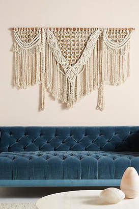 Anthropologie Handwoven Lenny Wall Hanging