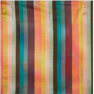 Paul Smith Artist Stripe Pocket Square