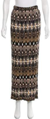 Joie Printed Maxi Skirt