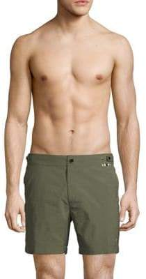Trunks Zippered Swim