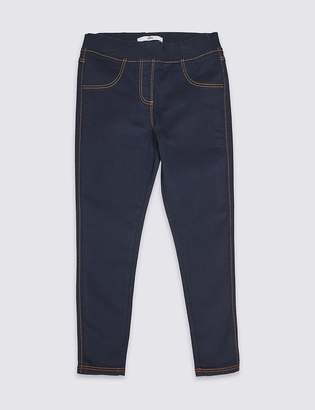 Marks and Spencer Cotton Rich Jeggings (3-16 Years)