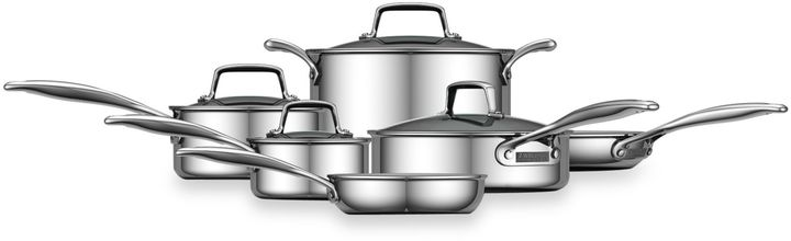 Zwilling J.A. Henckels Zwilling® Energy 10-Piece Ceramic-Coated Stainless Steel Cookware Set and Open Stock