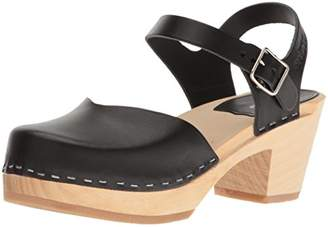 Swedish Hasbeens Women's Covered High Clog