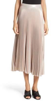 A.L.C. Bobby Pleated Midi Skirt