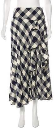 Lauren Ralph Lauren Plaid Midi Skirt
