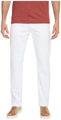 AG Adriano Goldschmied Everett Slim Straight Leg Denim in White Men's Jeans