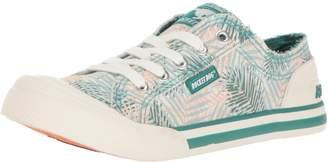 Rocket Dog Women's Jazzin Jungle Palm Cotton Fashion Sneaker