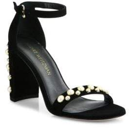 fc5685da68f5 Stuart Weitzman Black Adjustable Strap Women s Sandals - ShopStyle