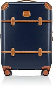 """Bric's Men's Bellagio 21"""" Carry-On Spinner Suitcase - Blue"""