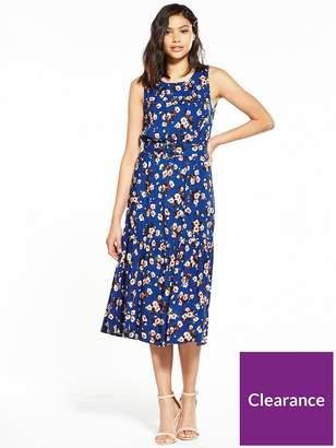 Warehouse Mae Floral Midi Dress
