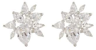Nadri Corsage CZ Cluster Stud Earrings