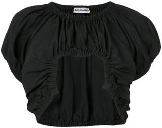 Molly Goddard cropped blouse