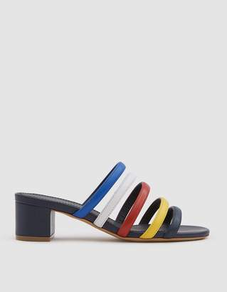 Mansur Gavriel Multi Strap Sandal in Blue