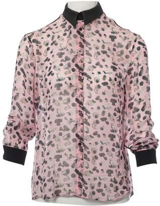 Antipodium Pink Silk Tops