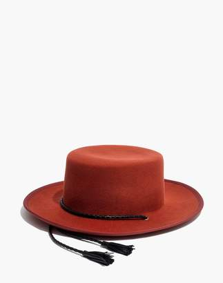 Madewell x Biltmore Felt Stampede-Strap Hat