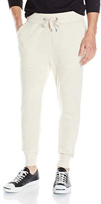GUESS Men's Lux Brushed Terry Joggers