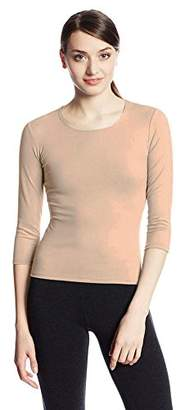 Only Hearts Women's Delicious 3/4 Sleeve Crewneck Top
