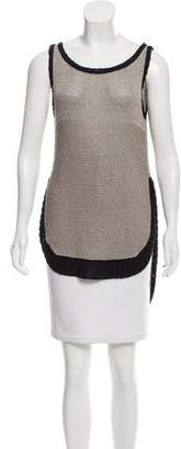 Under.ligne By Doo.ri Sleeveless Knit Top