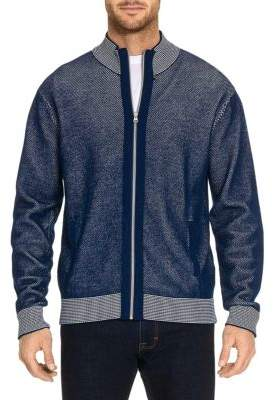 Robert Graham Conboy Front Zip Sweater